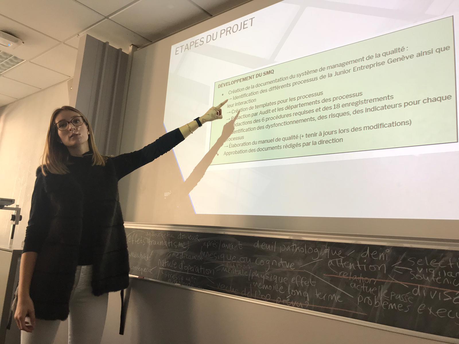 Junior entreprise Genève : alumni